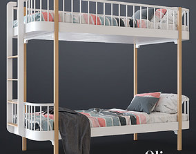 Bunk bed by Oliver furniture 3D
