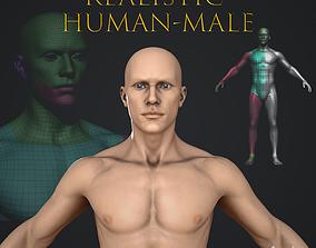 3D asset Realistic Human Male