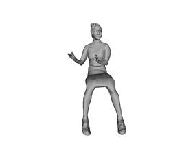 3D model Printle Femme 873
