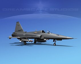 Northrop F-20 Tigershark V08 3D
