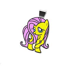 Pony Pendant 3D