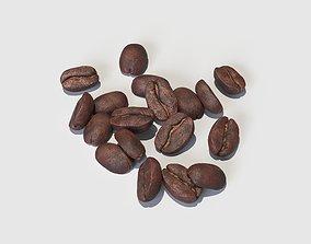 3D model Coffee Beans coffee-bean