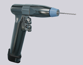 3D model Surgical Drill 3Ti