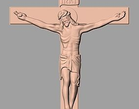 Christianity Jesus Christ Cross CNC 3D relief model J8