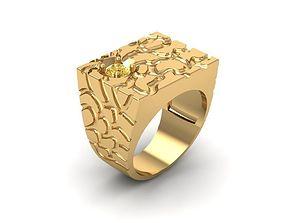 3D printable model 798 Diamond Men ring