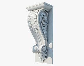 Corbel 3D white
