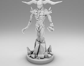 Stone golem 3D printable model