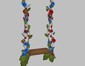 Swing Fairy 3D asset