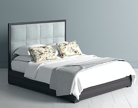 3D Bed with Throw