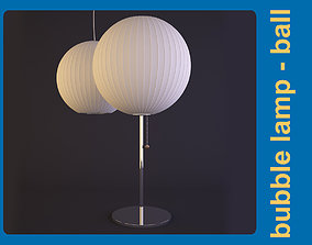 George Nelson bubble lamp - ball 3D