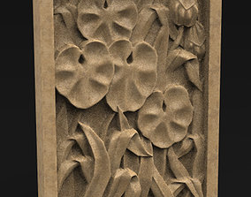Decorative Panel Nature 3D Model