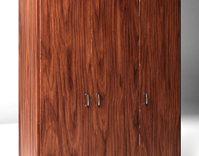 Realistic game-ready Closet Clean Dirty versions 3D asset
