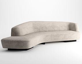 Korduda Sofa by Vladimir Kagan 3D