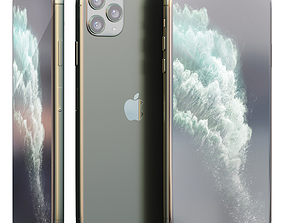 3D model Apple iPhone 11 PRO and 11 PRO MAX