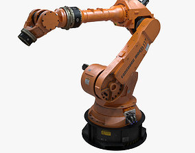 Factory Robotic Arm 3D