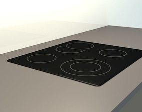 3D model cook Electric Cooker