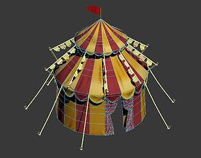 map circus tent 3D model