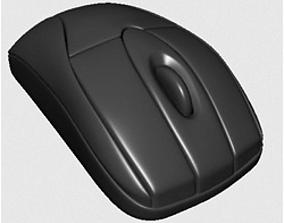 3D model components mouse