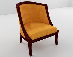 seat classic chair 3D model