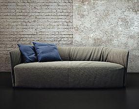 sofa 3D model Santa Monica