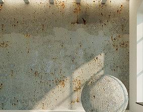 Concrete wall Old concrete 44 3D model