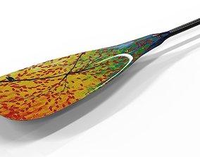 3D model Paddle kayak boat