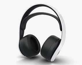 3D model Sony PULSE 3 Wireless Headset
