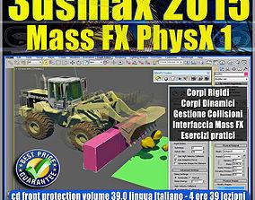 animated 3ds max 2015 Mass Fx PhysX v 39 Italiano cd front