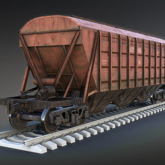 Railroad Cars Collection