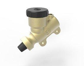 3D Brembo Billet Rear Brake Master Cylinder