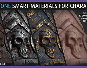 Poligone Smart Material Collection for AAA 3D model 1
