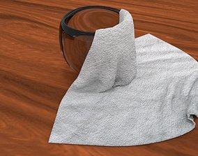 Cloth Bowl 3D model
