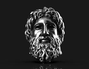 zeus 3D printable model Zeus Pendant