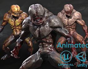 3D asset Big mutant