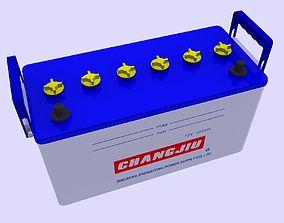 3D asset Car Battery