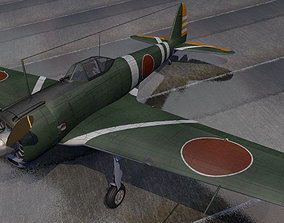 3D model Nakajima Ki-43-1b Hayabusa - aka Oscar