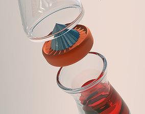 3D printable model juicer design