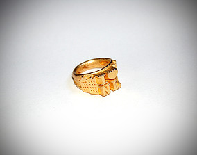 I Love Holland Ring D18 3D print model