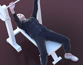 3D asset Francine 10351 - Fitness Woman