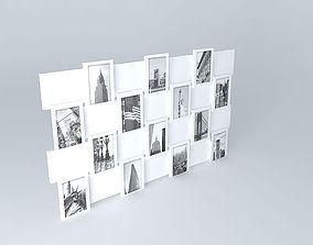 3D model Photo Frame Offset Maisons du monde