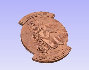 56 CES Dragonslayer patch 3D print model