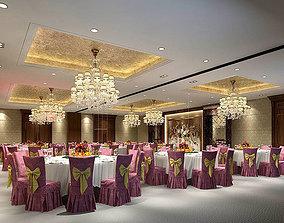 Business Restaurant - Coffee - Banquet 131 3D