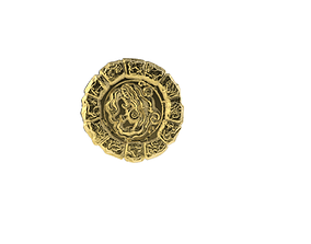 Medal Astro Aquarius 3D print model