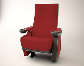 3D model realtime cinema chair