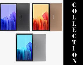 3D Samsung Galaxy Tab A7 All Colors