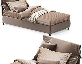 3D model NATHALIE by Flou Single bed