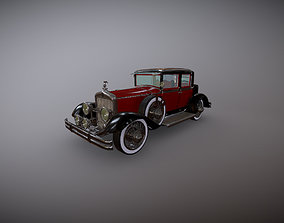 Antique Car Cadillac 3D model