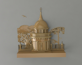 mural temple 3D print model
