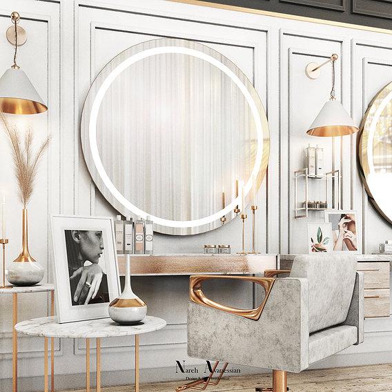 Beauty Salon Designing