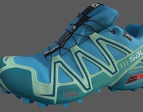 3dsmax shoe Salomon Speedcross 3 Livery 3D